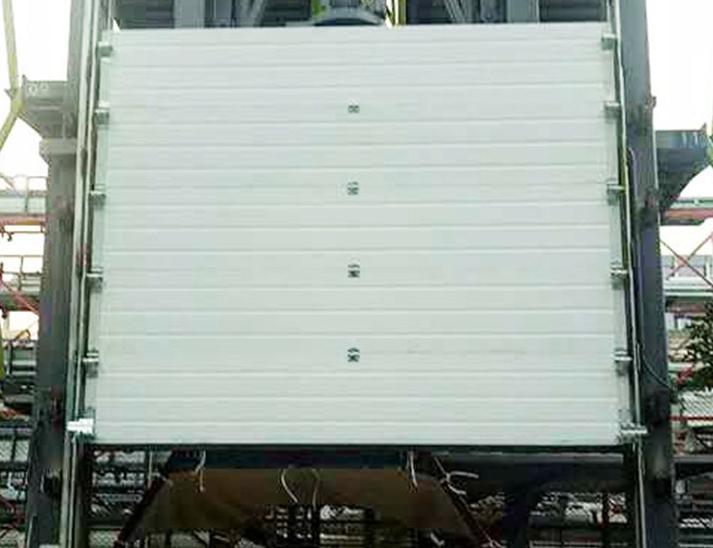 上海彩钢板提升门