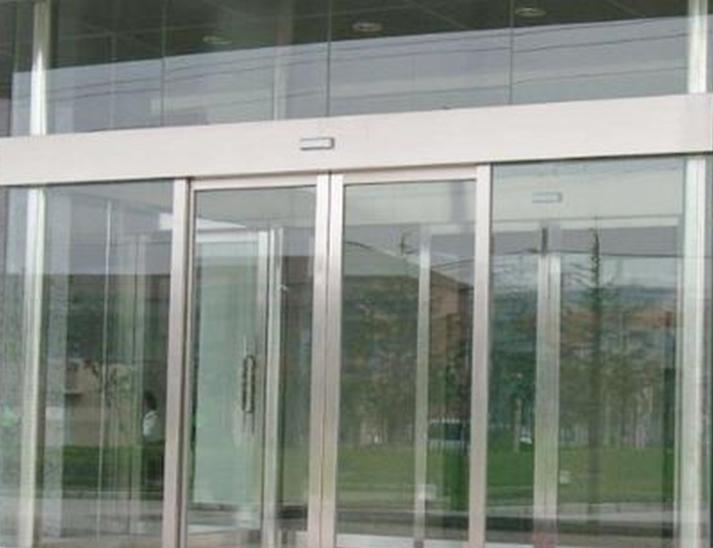 电动玻璃感应门维修